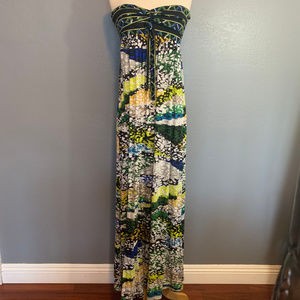 BCBG Max Azria Long Strapless Maxi Cybele Dress